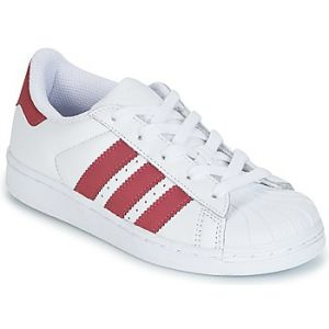 Adidas Superstar C, Chaussures de Fitness Mixte Enfant, Blanc (Ftwbla/Ftwbla/Negbás 000), 35 EU