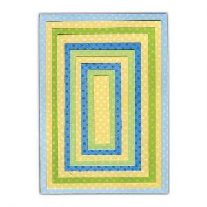 Sizzix 658610 Framelits Pack de 10 Matrices de Découpage Rectangles #2 25,7 x 15,7 x 0,8 cm