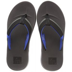 Reef Entertainment Reef Fanning Low Grey/Blue, Tongs Homme, Multicolore (Grey/Blue Gbl), 45 EU