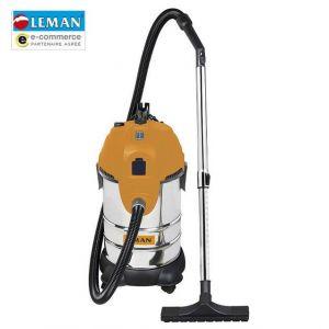 Leman LOASP306 - Aspirateur eau et poussières en inox 1400W 30L