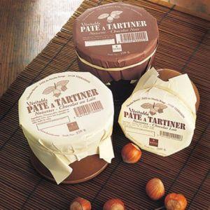 Bovetti Artisan Chocolatier Pâte à tartiner véritable Chocolat Noir et Noisettes, sans huile de palme et sans gluten