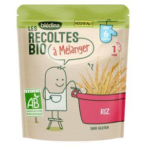 Blédina Les récoltes Bio à mélanger - Riz