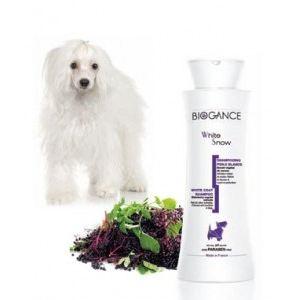 Biogance White Snow - Shampooing poils blancs pour chien