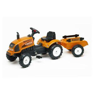 Falk Tracteur à pédales Renault Celtis 436RX et remorque