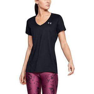 Under Armour Women's Tech SSV Solia - T-shirt technique taille S, noir