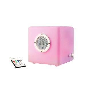 Clip Sonic LH72 - Cube lumineux haut parleur Bluetooth