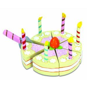 Le Toy Van TV273 - Gâteau d'anniversaire à la vanille