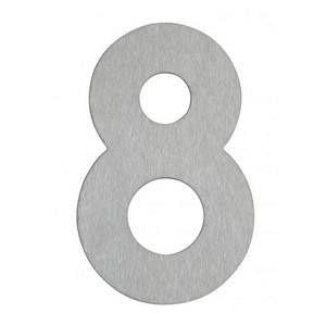 Albert Leuchten Numéro de maison 8- en inox