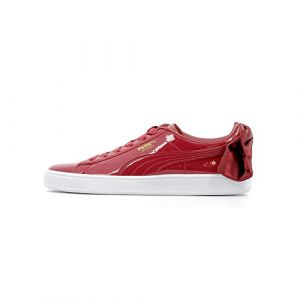 Puma Baskets basses WN SUEDE BOW PATENT.TIBETA rouge - Taille 36,37,38,39,40,35 1/2,38 1/2