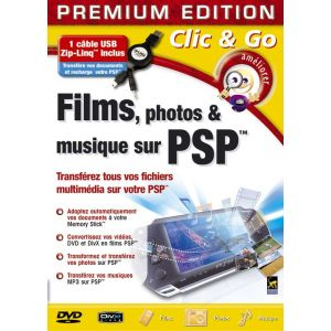 Films, photos et musique sur PSP [Windows]