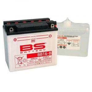 BS Battery Batterie BS YB16-B AVEC ACIDE