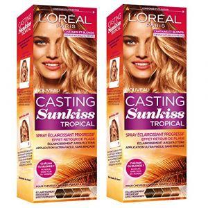 L'Oréal Casting Sunkiss Tropical Spray Spray Éclaircissant Progressif pour cheveux châtains et blonds