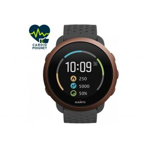 Suunto 3 Slate Grey Copper - Montre sport