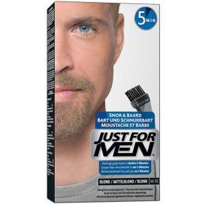 Just for Men Coloration barbe blond couleur naturelle