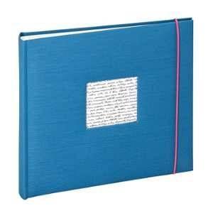 Panodia Linea Album Photos 200 Vues 11.5X15 Bleu, Toile, 5 x 25 x 24 cm