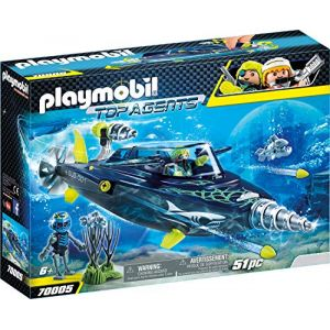 Playmobil Sous-marin d'attaque Shark Team - 70005