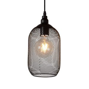 Lucide Suspension Mesh - D15 cm - Noir
