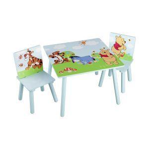 Image de Delta Children Ensemble table et 2 chaises Winnie l'Ourson