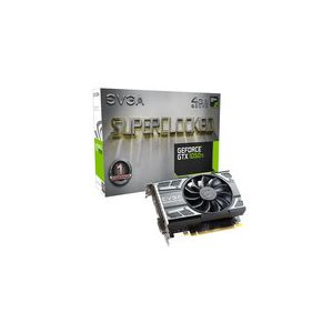 Evga 04G-P4-6253-KR - Carte graphique GeForce GTX 1050 Ti SC GAMING 4 Go