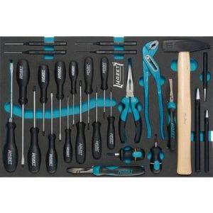 Hazet Set d'outils tournevis, pinces, etc. 163-31/27