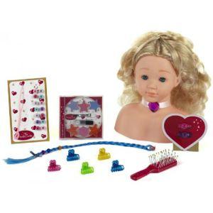 Klein Tête à coiffer et à maquiller Princess Coralie (25 cm)