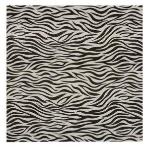 Exacompta 16003E - Album photos Zebra 25x25 cm, 30p. noires/60 photos, reliure livre, noir/ivoire