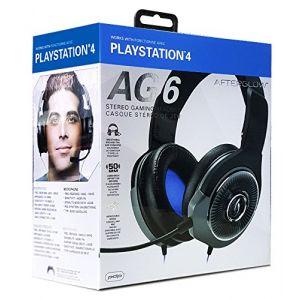 PDP Afterglow AG 6 Filaire Noir- Casque Gaming pour PS4