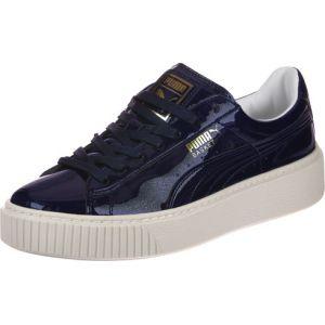Puma Basket Platform Patent W chaussures violet 37 EU