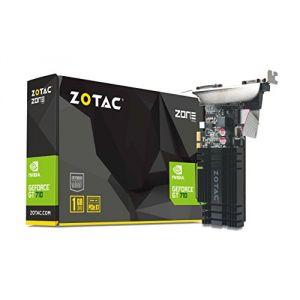 Zotac ZT-71304-20L - Carte graphique GeForce GT 710 ZONE Edition 1 Go DDR3 PCIe
