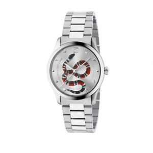 Gucci Montre Homme G-timeless Gris
