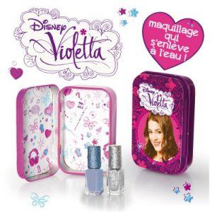 Giochi Preziosi Maquillage Violetta boîte en métal + 2 vernis à ongles
