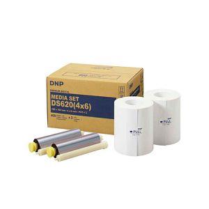 Dnp Papier thermique pour DS620 - 10x15cm - 2x400 photos