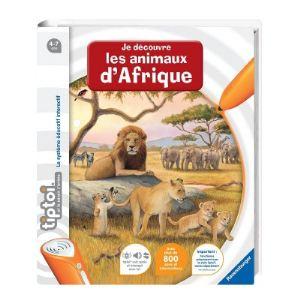 Ravensburger Tiptoi : Je découvre les animaux d'Afrique