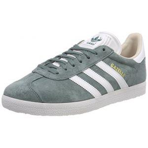 Adidas Gazelle W, de Tennis Femme, Vert (Rawgrn/Ftwwht/Linen B41661), 36 2/3 EU