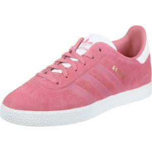 Adidas Gazelle J, Chaussures de Fitness Mixte Enfant, Rose (Rostiz/Rostiz/Ftwbla 000), 37 1/3 EU