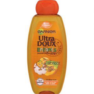Garnier Ultra Doux Enfants - Shampooing 2 en 1 abricot et fleur de coton 400 ml