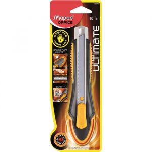 Maped Cutter ultimate pour gauchers - 18 mm