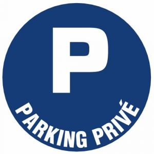 Novap Disque plastique diamètre 30 cm - Parking