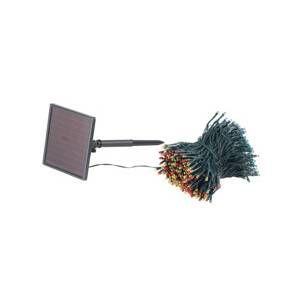 Lunartec Guirlande lumineuse solaire pour extérieur - 4 couleurs - 50 m