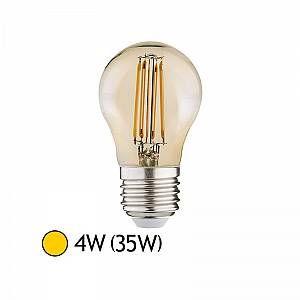 Vision-El AMPOULE LED E27 G45 FILAMENT 4W 2700°K GOLDEN