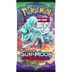 Asmodée Pokémon Pok80214TCG Soleil et Lune Guardians Rising Booster écran (lot de 1 ) ( 10 cartes) - Coloris aléatoire