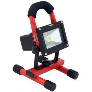 Velamp Projecteur de chantier rechargeable LED 10W Industries,