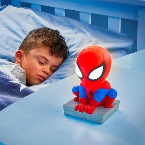 Worlds Apart Spider-Man-Veilleuse et lampe torche GoGlow Buddy