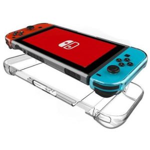 Insten Pour Console Nintendo Switch Joy-Con : Coque De Protection En Cristal Rigide Transparent