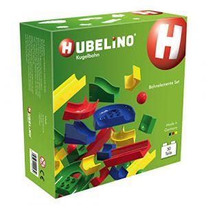 Hubelino Circuit à billes 50 pièces Blocs de construction Set Jeu de motricité