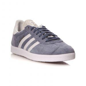 Adidas Originals Gazelle - Baskets en cuir - gris chine