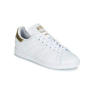 Adidas Stan Smith cuir Femme-39 1/3-Blanc Gold