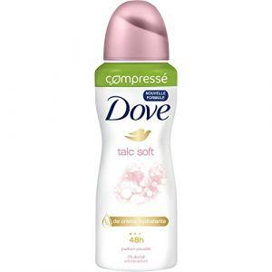 Dove Talc Soft - Déodorant spray anti-transpirant 48h