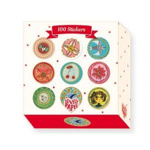 Djeco 100 stickers Aurélia Fronty