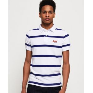 Superdry Polo Beach Volleyball - Couleur Blanc - Taille S